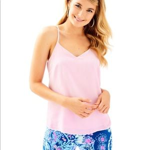 NEW Lilly Pulitzer Pink Velvet Tank Size Med NWOT